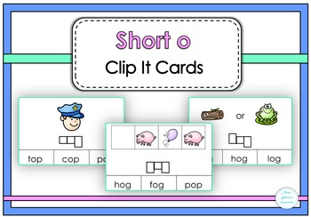 Short o Clip It Cards