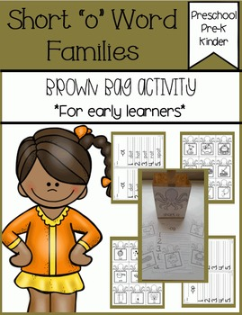 Short o Families Brown Bag Activity