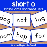 short o Flashcards and Word Lists