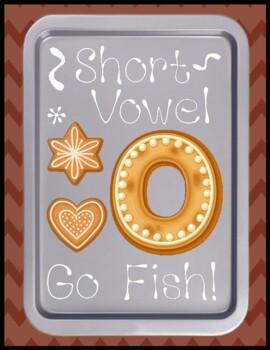 Short o Go Fish - Literacy Center Game