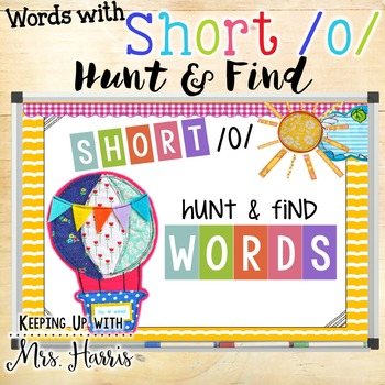 Short /o/ Hunt & Find PowerPoint Game