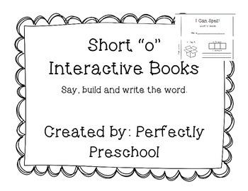 """Short """"o"""" Interactive CVC Book"""