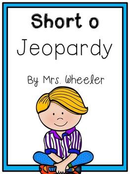 First Grade Phonics: Short o Jeopardy