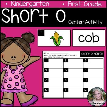 Short o Literacy Center Activity