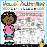 Short 'o' & Long 'o' Games and Activities