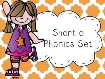Short o Phonics Set