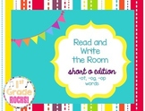 Short o Read and Write the Room