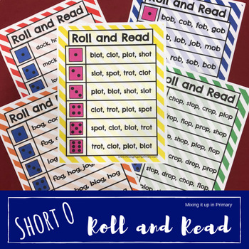Short o - Roll and Read