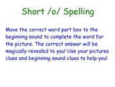 Short /o/ Spelling Smartboard Activity