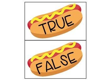Short o True and False Sort