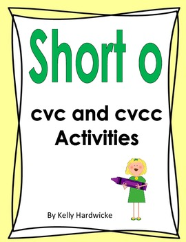 Short o Vowel Activity
