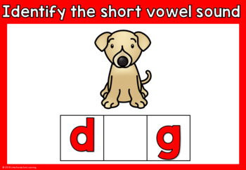 Short o Vowel - CVC Words Interactive PowerPoint