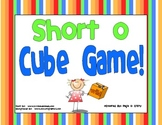 Short  o Vowel Cube Game!