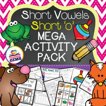 Short O Mega Activity Pack