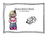 Short o Vowel Roll a Word Fluency