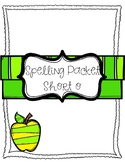 Short o Vowel Spelling Packet