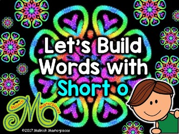 Short o Word Building - Interactive PowerPoint