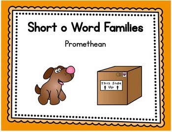 Short o Word Families - Promethean