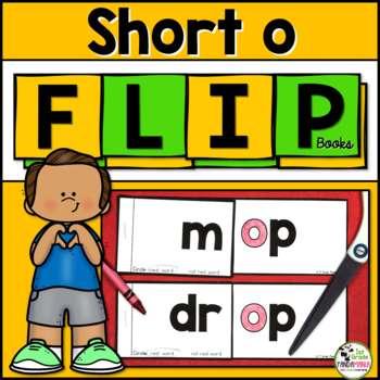 Short o Word Family FLIP Books