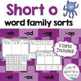 Short o Word Sorts