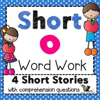 Short o Word Work