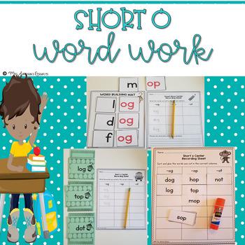 Short o Word Work
