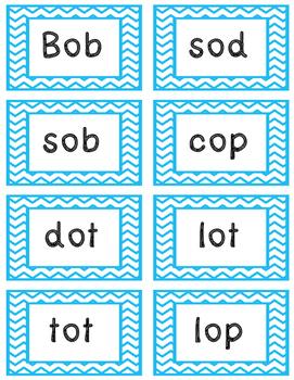 "Short ""o"" Words (Flash Cards)"