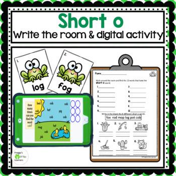 Short o Write the Room