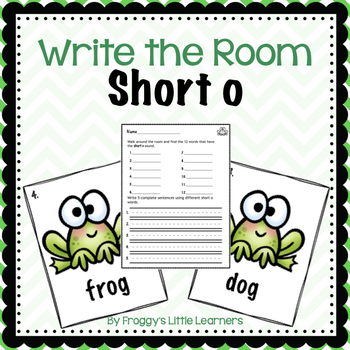 Short o Write the Room