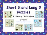 Short o and Long o Puzzles
