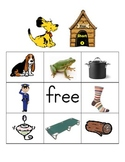 Short o cvc words BINGO with decoding cards - great for di