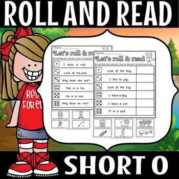Short o roll and read (flash freebie)