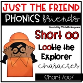 Short oo Craftivity, Phonics Friends Just the Friend