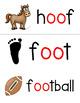 Short oo Word Cards