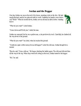 Short reading passages