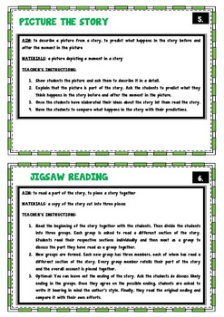 Short story + Short story - 16 activities to use with any story