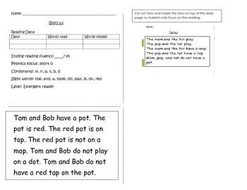 Short story and worksheets 2.1 (short o)