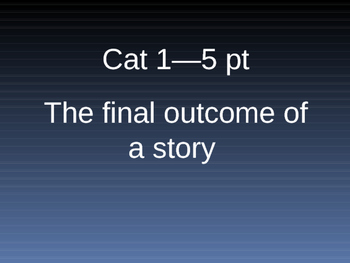 Short story game