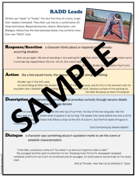 Short story planning and instruction packet (narrative)