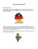 Short summary of WWI