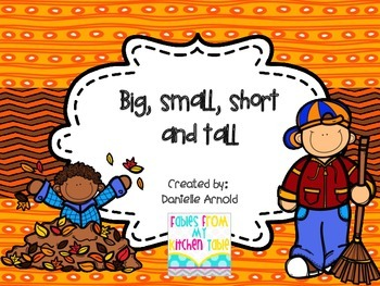Short, tall, big, and small: fall edition