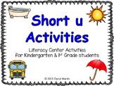 Short u Activities