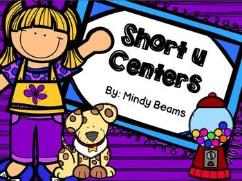 Short u Activities - Interactive Book Included!