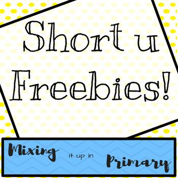Short u Board Games - FREEBIES!