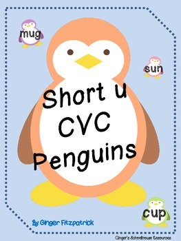 Short u CVC Penguin Card Game