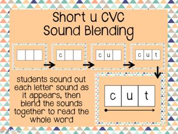Short u CVC Sound Blending