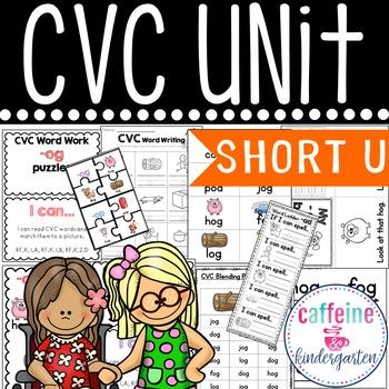 Short u CVC UNIT and Word Work