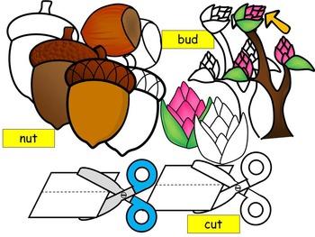 Short vowel u clip- UT, UD, UP Words Clipart  (7 WORDS- 24 IMAGES)