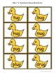 "Short ""u"" Duck-Duck-Goose Word Game"