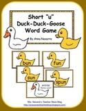"""Short """"u"""" Duck-Duck-Goose Word Game"""